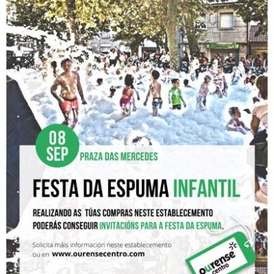 Festa da Espuma Infantil 2017
