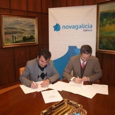 Novagalicia apoya con acceso al credito al CCA Ourense Centro