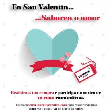 Relacion de ganadores de las cenas romanticas - San Valentin 2017