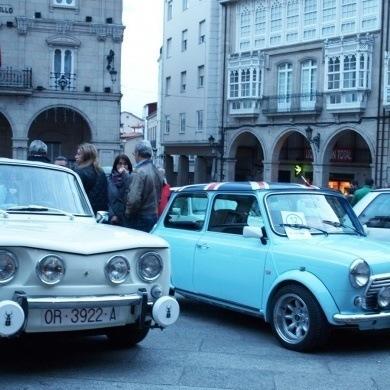 O III Rallye Solidario converteu Ourense na capital galega do motor clasico