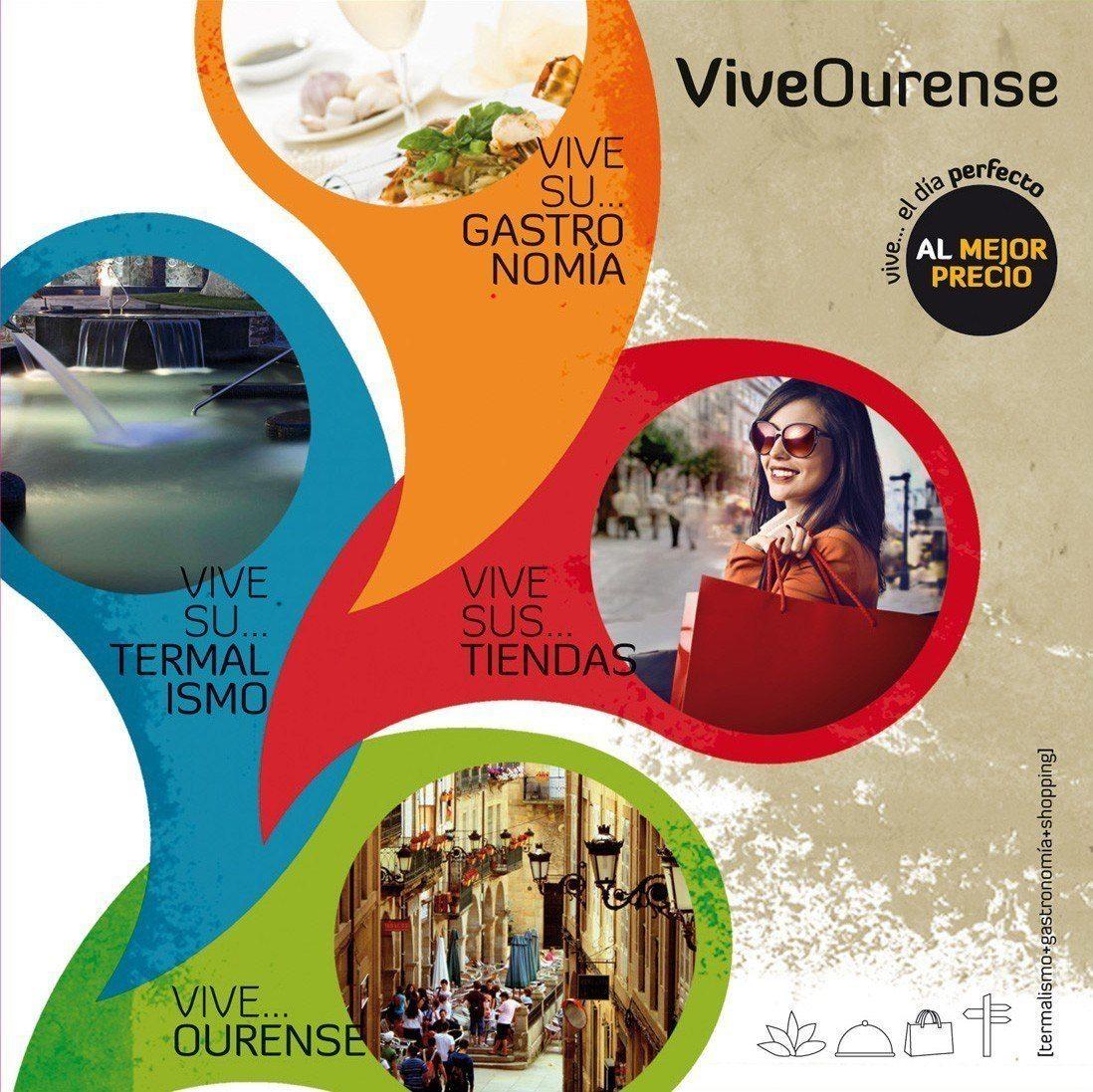 Vive Ourense: Termas, compras y gastronomía