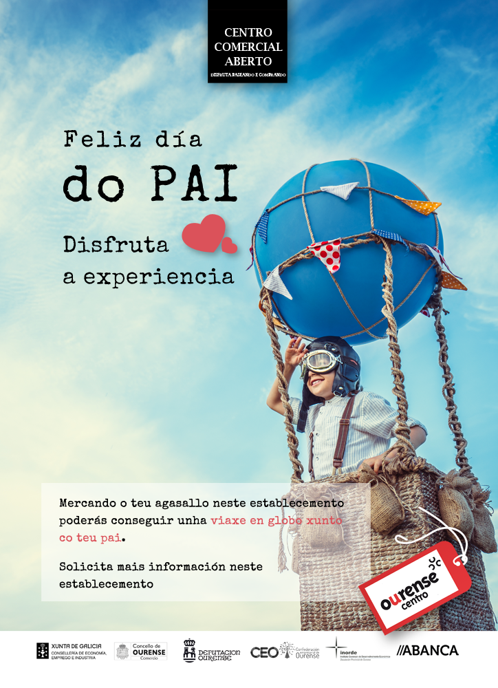 Día del padre Ourense 2020